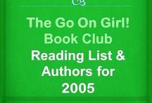 Go On Girl! Book Club 2005 Reading List / The Go On Girl! Book Club 2005 Reading List and Author's information (clic picture for complete GOG! Reading List since inception)