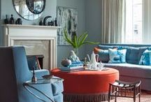 Bold and Bright / Dare to be bold with these fun paint colors for your walls at home! / by Porchdotcom