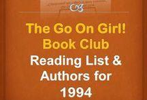 Go On Girl! Book Club 1994 Reading List / The Go On Girl! Book Club 1994 Reading Lists and Authors!