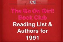 Go On Girl! Book Club 1991 Reading List / The Go On Girl! Book Club 1991 Reading List & Authors! Click picture for complete listing on the GOG! Website.