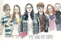 My Mad Fat Diary ✏