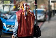 {Who wore it best} / Funky and Fun ways we've found people styling their scarves.