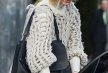{Cold Weather Looks We Love} / Keep it creative. These are fun, fashionable women who's looks we are loving.