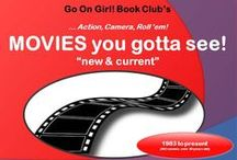 """GOG! MOVIES you gotta see! / Go On Girl! Book Club GROUP BOARD for sharing CURRENT MOVIES, you want to see or those you loved and want to share with others!  (could also include plays). NOTE: (IF it was a BOOK FIRST .... please PIN TO """"From Page to Stage"""").   *** Current = 1983 to present (within last 30 years)"""