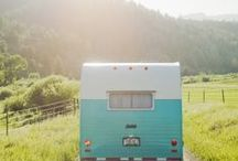 Vintage camper trailers / by Cherie Cole