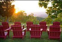 The View from The Bluff / Breathtaking views and spectacular sunsets at Gorham's Bluff, AL