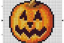 Cross Stitch Halloween / Nice cross stitch patterns for Halloween