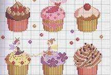 Cross Stitch Food / All sort of fun food patterns for cross stitching