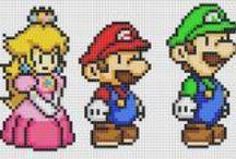 Cross Stitch Mario