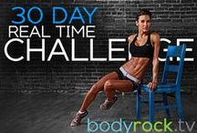 30 Day Challenges / Push yourself to add a workout challenge to your fitness routine every month.