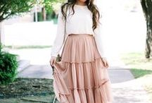 Cute Outfit Inspiration / All the dresses that inspire my daily dresses look