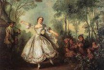 Early dance historical dance / Tancerze, tancerki i ludzie w tańcu