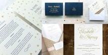 Invitations in Glorious Form / Classy and innovative wedding invites!