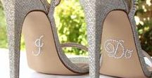 Wedding Shoes / Traditional, glitzy, colourful wedding shoes of all types.