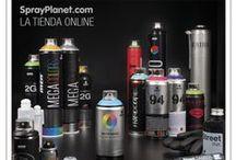 Productos Tienda Online / Todos estos artíuclos y muchos más relacionados con el Graffiti y las Bellas Artes los encontrarás en nuestra tienda online www.sprayplanet.com