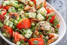 chicken @ egg salads / by Shorena Meliashvili