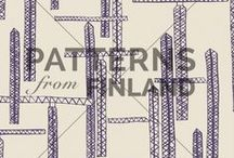 """Maria Tolvanen / See Maria's current collection in our online-portfolio by clicking """"visit website"""". All designs on this board can be bought for exclusive or non-exclusive uses. Please ask for more information: hello@patternsfrom.fi"""