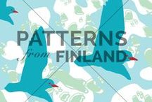 """Ilana Vähätupa / See Ilana's current collection in our online-portfolio by clicking """"visit website"""". All designs on this board can be bought for exclusive or non-exclusive uses. Please ask for more information: hello@patternsfrom.fi"""