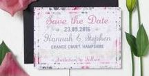 Save the Dates / Get your guests taking about your big day before it even arrives with these show stopper save the dates