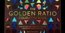 The Golden Ratio Colouring Book. / My colouring book! Here in this album I am attempting to turn the original artwork used for the book into pieces of art.  The book is available at Amazon and Barnes and Noble. Thankyou to everyone at Michael O'Mara books for their support! ☕