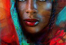 Portraits du monde en peinture / Portrait, morceaux de corps