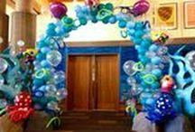 Under The Sea / Summertime Event Ideas  Luau Ideas Under The Sea Balloons!