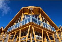 Commercial Timber Frame Buildings / Flip through the commercial timber frame projects we have been involved with