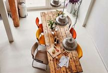 Kitchen tables / Collection of different kitchen tables to inspire myself.