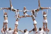 Cheer Stunts / by Danielle