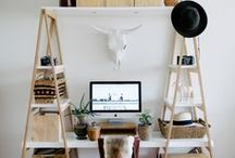 Office Styling / Inspiration for the perfect home office space.