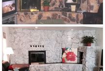 Painted Rock Fireplaces