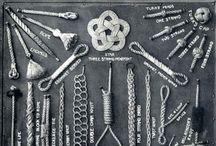 Bracelets and string art