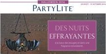 Catalogue Halloween 2016 - PartyLite / Validité du Catalogue du 1er septembre au 15 octobre 2016
