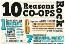 Cooperatives / Whether it's electric, food, bank, housing...we've got co-ops to share with you.