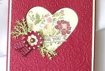 Cards with Stampin Up