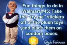 Welcome to Walmart! / Wal-Mart Humor: Find hilarious end-aisle displays, funny people at Walmart, funny store signs, meanwhile at Walmart jokes, big box store humor, Walmartians, shopping jokes and things you only see at Walmart. Welcome to Walmart!