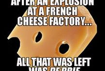 Cheesy Jokes / Cheesy Humor. Find stinking cheese jokes, cheesy humor, cheese puns, smelly joking, aged hilarity, and lots of cheesy grins.