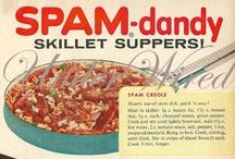 Spam for Dinner? / Spam Recipes. Enjoy your Spam! Find delicious (?) SPAM recipes, vintage Spam ads, Hawaii's state whatever and jokes about America's favorite pork (?) product, Spam.
