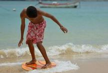 Skimboarding (Boys of Praia Diante) / I took those pics in Boa-VIsta, Cape Verde...absolutely amazing