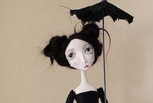 textil dolls