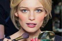 Looks / Natürliche und kräftige Make-Up Looks für den Abend oder dezent am Tag.