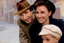 "Life is Beautiful ""La vita è bella"" (1997) / A Jewish man has a wonderful romance with the help of his humour, but must use that same quality to protect his son in a Nazi death camp."