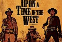 "Once Upon a Time in the West ""C'era una volta il West"" (1968) / Epic story of a mysterious stranger with a harmonica who joins forces with a notorious desperado to protect a beautiful widow from a ruthless assassin working for the rail road.  Full review: http://www.goodonnetflix.com/upon-time-west-cera-una-volta-il-west/"