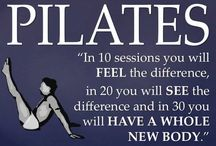 Pilates / Quotes from Joseph and other Pilates pics/ info