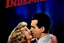 "Double Indemnity (1944) / A smitten insurance man plots the perfect murder with his femme fatale client: staging her husband's ""accidental"" death to collect on the insurance."