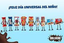 Día Universal del Niño / Celebra este día con una #merienda #Bollycao.