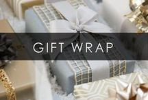Gift Wrap Ideas / Fun, easy and creative ways to wrap presents for all occasions!