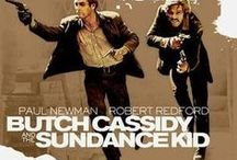 Butch Cassidy and the Sundance Kid (1969) / Legendary outlaws Butch Cassidy and the Sundance Kid display their gifts for perfect comedic timing as they pull off heist after heist. To evade a posse, the boys flee to Bolivia, but trouble finds the charming pair of desperadoes wherever they go.