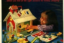 Fisher Price / I'm slowly collecting all the Fisher Price toys that I remember from my childhood in the 70's.