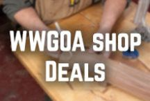 WWGOA Shop Deals / Did you know we have a shop on our WoodWorkers Guild of America website? / by WoodWorkers Guild of America